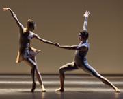 Woundwork 1, chorégraphie de William Forsythe. Avec Agnès Letestu et Hervé Moreau, Opéra de Paris, 2012   © Ann Ray / OnP